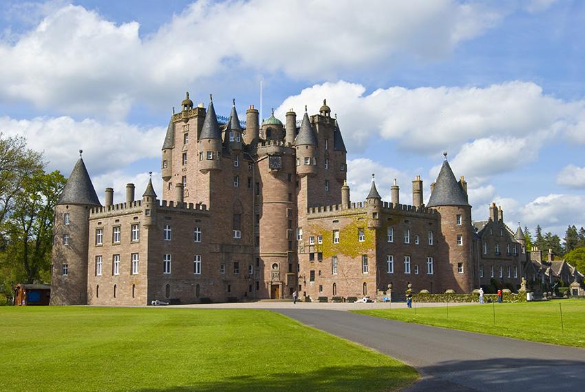 El Castillo de Glamis Escocia