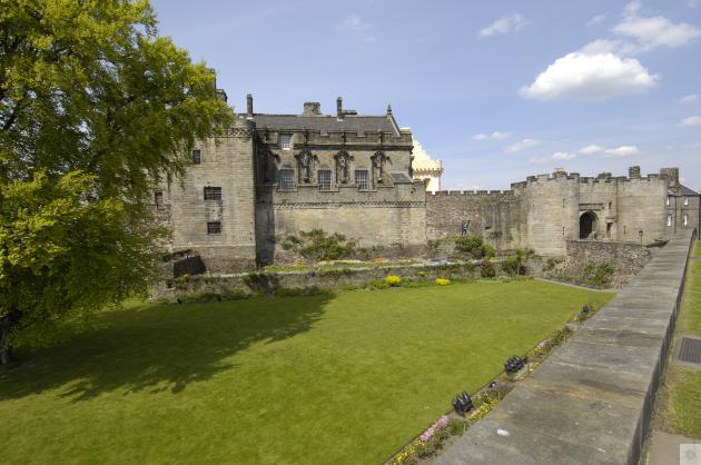 Palace Stirling Escocia