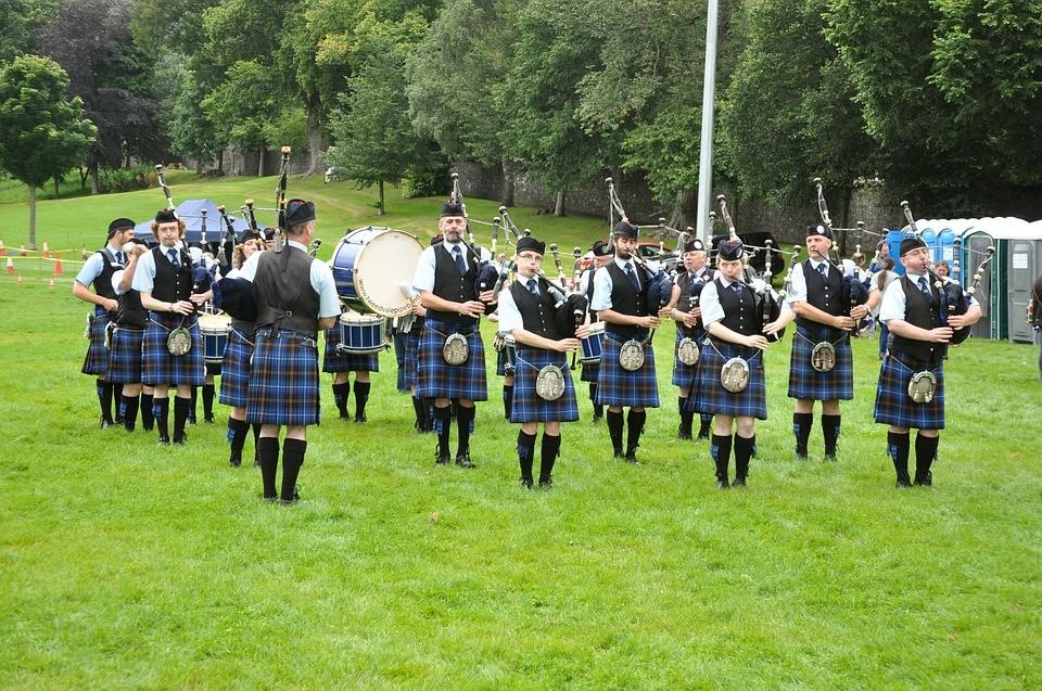 falda escocesa edimburgo