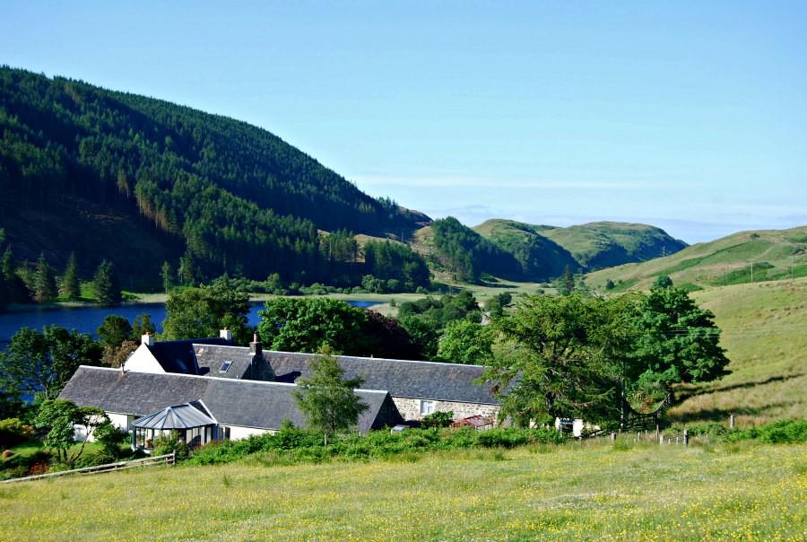 refugios para descubrir escocia